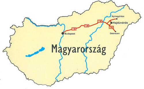 tiszavasvári térkép Hajdúnánás bemutatkozik tiszavasvári térkép